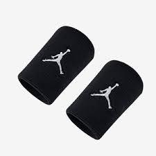 Munhequeira Jordan Jumpman Wristbands - Preta