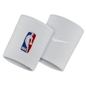 Munhequeira Nike NBA Wristband - Branca