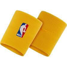Munhequeira Nike NBA Wristband - Amarela
