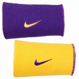 Munhequeira Nike Dri-Fit Dupla Face - Roxo/Amarelo