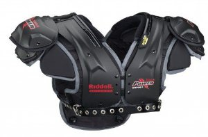 Shoulder Pad Riddell Power SPK+ QB/WR - Adulto
