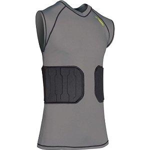 Regata de Compressão Bionic com Proteção na Costela Champro - Adulto