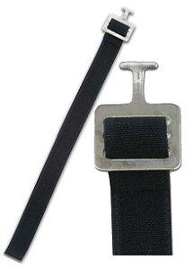 Strap para Shoulder Pads com presilha T-Hook de 1 Polegada- Par