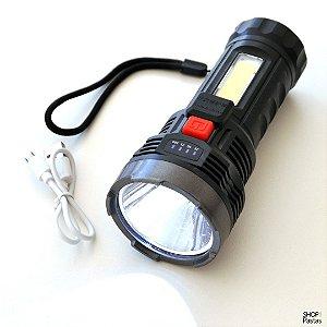 Lanterna LED USB Recarregável  LT8506