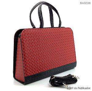 Bolsa Feminina BAG Trisse Vinho - BAG336