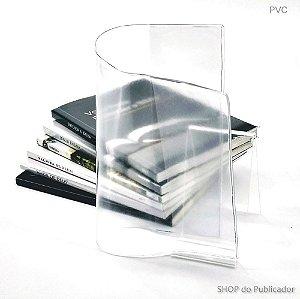 Capa para Livros Pequenos PVC Cristal