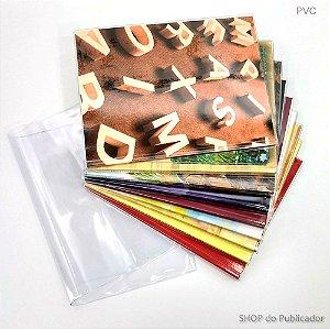 Capa para Livros Grande PVC Cristal