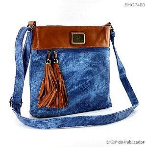 Bolsa Tiracolo JEANS P583 Blue