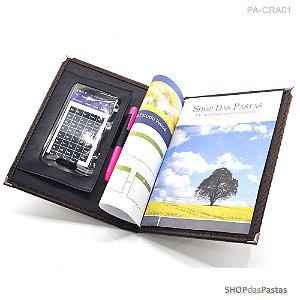 Pasta de Reunião com Case para Smartphone PA-CRA05 Azul
