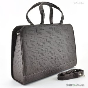 Bolsa Feminina Bag Labirinto Café - BAG350