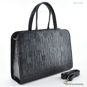 Bolsa Feminina Bag Verniz Preto - BAG352