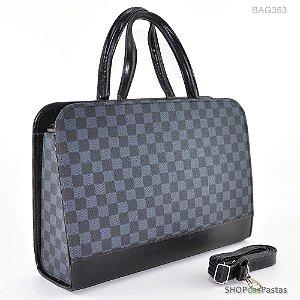 Bolsa Feminina Bag LV Xadrez Cinza - BAG353