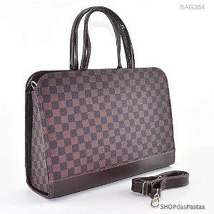 Bolsa Feminina Bag LV Xadrez Marrom - BAG354