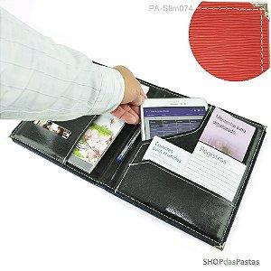 Pasta Slim para Publicações e Tablet - Vermelho - PA-Slim074