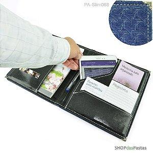Pasta Slim para Publicações e Tablet - Azul - PA-Slim068