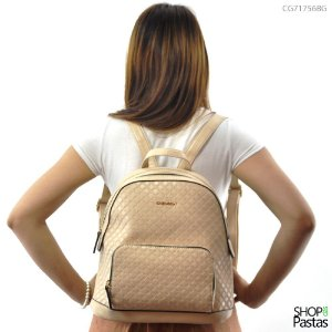 Mochila Feminina Chenson - Casual Chic CG81756 Bege