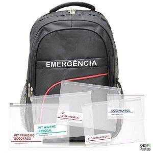 Mochila de Emergência Conjunto Básico 001PR
