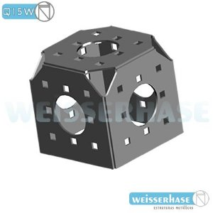 cubo 5 faces boxtruss Q15