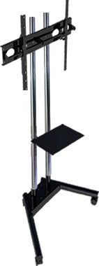 Pedestal para TV compacto movel com bandeja de apoio-PBC1800