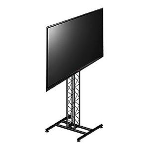 suporte TV de piso com torre treliçada - ksp1520