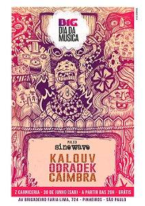 Poster Sinewave - Dia da Música 2018