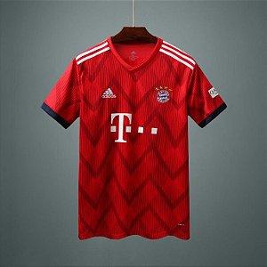 Camisa de Bayern de Munique  2018/2019 Masculina/Feminina Editavel