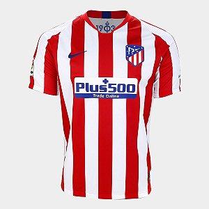 Camisa do Atlético de Madrid 2020 Masculina/Feminina Editável