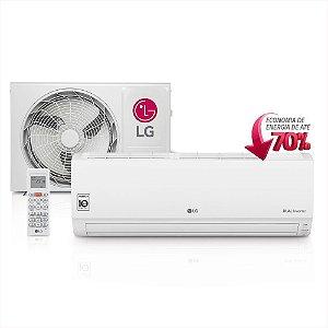 Ar Condicionado Split Hi-Wall LG Dual Inverter 9000 Btus só Frio 220V