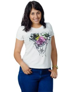 Camiseta Flower in head