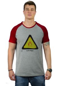 Camiseta Inflamável