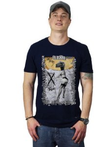Camiseta Pin-up Dinosaur