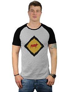 Camiseta Raglan Animais na Pista ㅤ