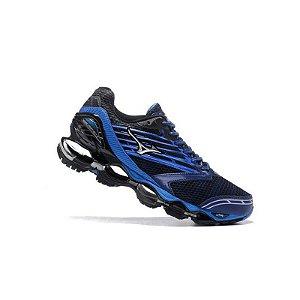 Tênis Mizuno Wave Prophecy 5 - Azul e Preto