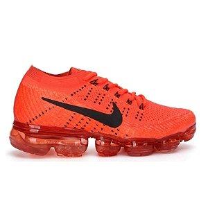 Tênis Nike Air Max VaporMax Flyknit - Vermelho e Preto