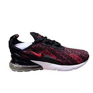 Tênis Nike Air Max 270 - Preto e Vermelho