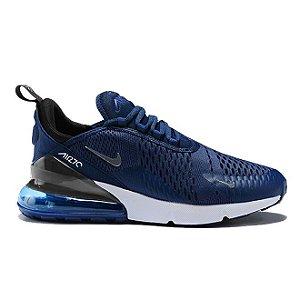 Tênis Nike Air Max 270 - Azul e Branco