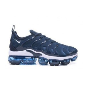 Tênis Nike Air VaporMax Plus - Azul e Branco