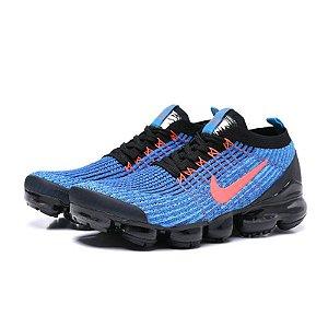 Tênis Nike Air Max VaporMax 3 - Azul e Preto