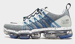 Tênis Nike VaporMax Utility - Cinza Claro e Azul