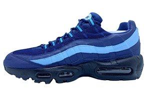 Tênis Nike Air Max 95 Azul Escuro E Azul Claro