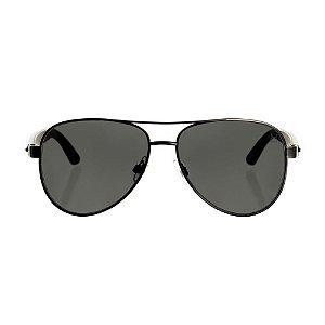 Óculos Woodlince Bamboo King Prata