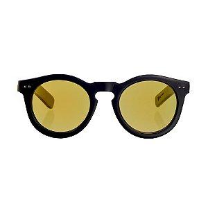 Óculos Woodlince Bamboo Gold Espelhado