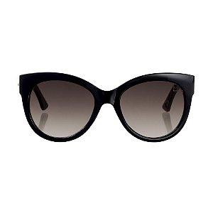 Óculos Woodlince Bamboo Pin-Up Preto