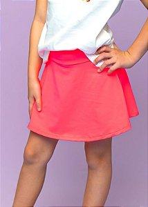 Shorts Saia Coral Infantil