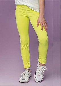 Legging Infantil Amarelo Candy