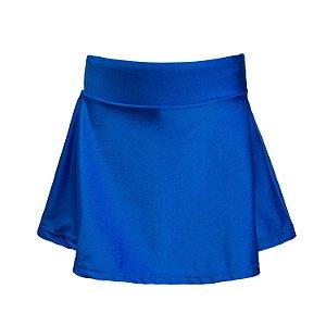 Shorts saia azul bic cirrê