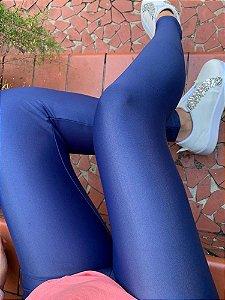 Legging Adulto Azul Brilhante Cirrê