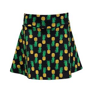 Shorts Saia Abacaxi