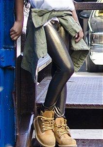 Legging Infantil Gold/ Dourado Brilhante