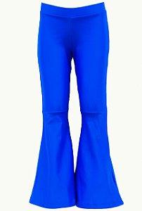 Flare Infantil Azul Royal